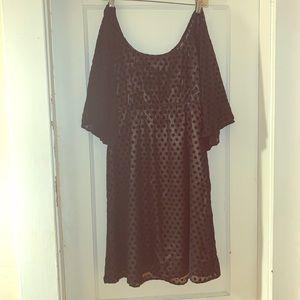 Judith March Black Dress.  Size Large.